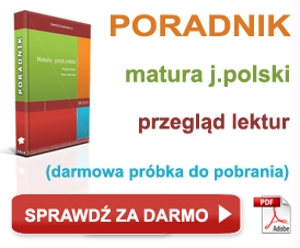 Poradnik przegląd lektur do matury język polski
