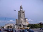 Pałac Kultury i Nauki w Warszawie – obecna siedziba Collegium Civitas