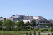 Biblioteka Uniwersytetu Warmińsko- Mazurskiego w Olsztynie (Fot. Umix, Wikipedia)