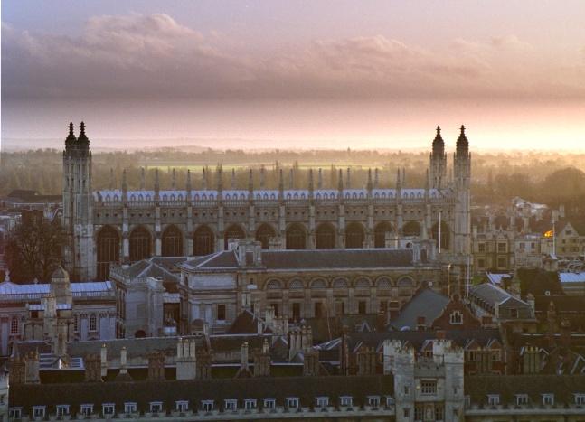 Uniwersytet Cambridge (Fot.Bob Tubbs, wikipedia.org)
