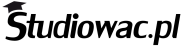 Studiowac.pl logo czarne waskie bez tla 1000x250px