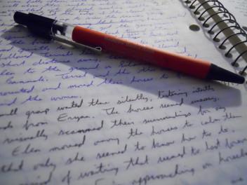 Sztuka pisania długopis tekst (for.morguefile.com)
