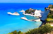 Cape Drastis at Corfu island in Greece. (fot.www.fostertravel.pl)