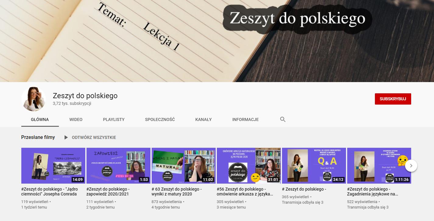 Zeszyt do polskiego