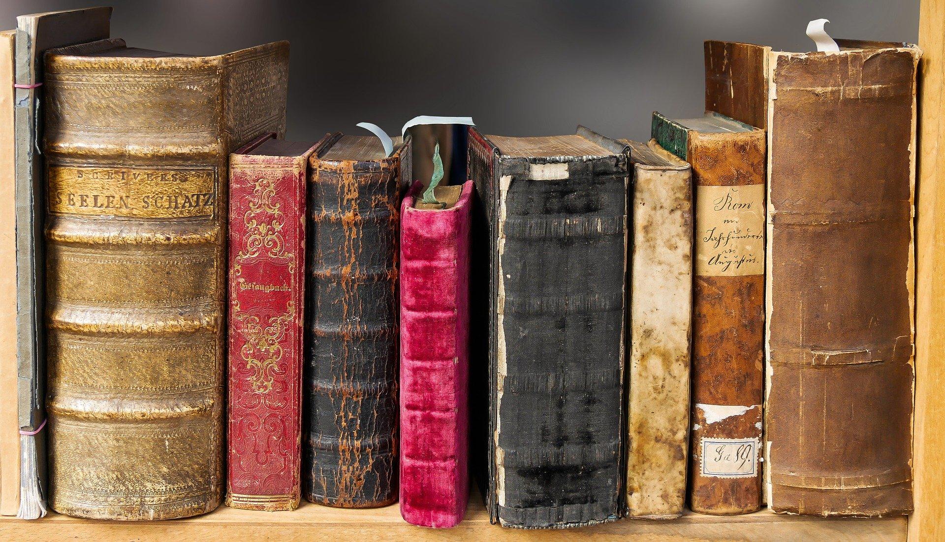 Książki, (pixaby.com)