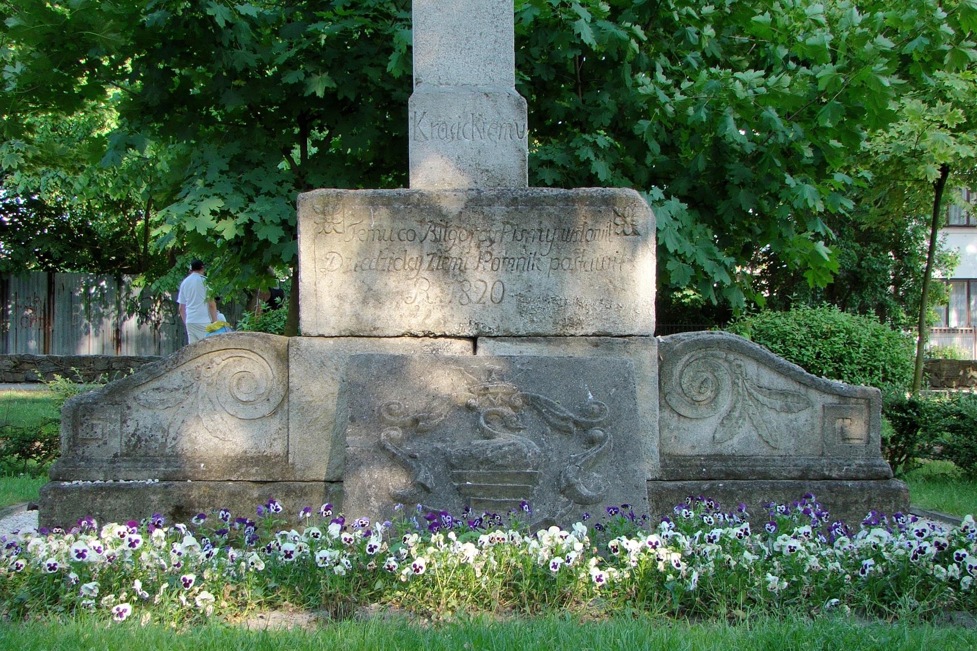 Pomnik Ignacego Krasickiego (fot. Wikipedia)