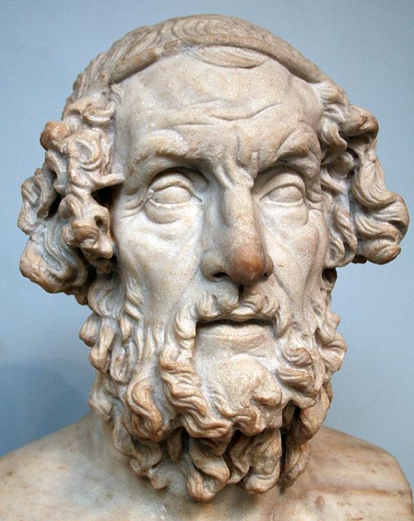 Homer – rzymska kopia hellenistycznej rzeźby z II wieku p.n.e. (fot. Wikipedia)