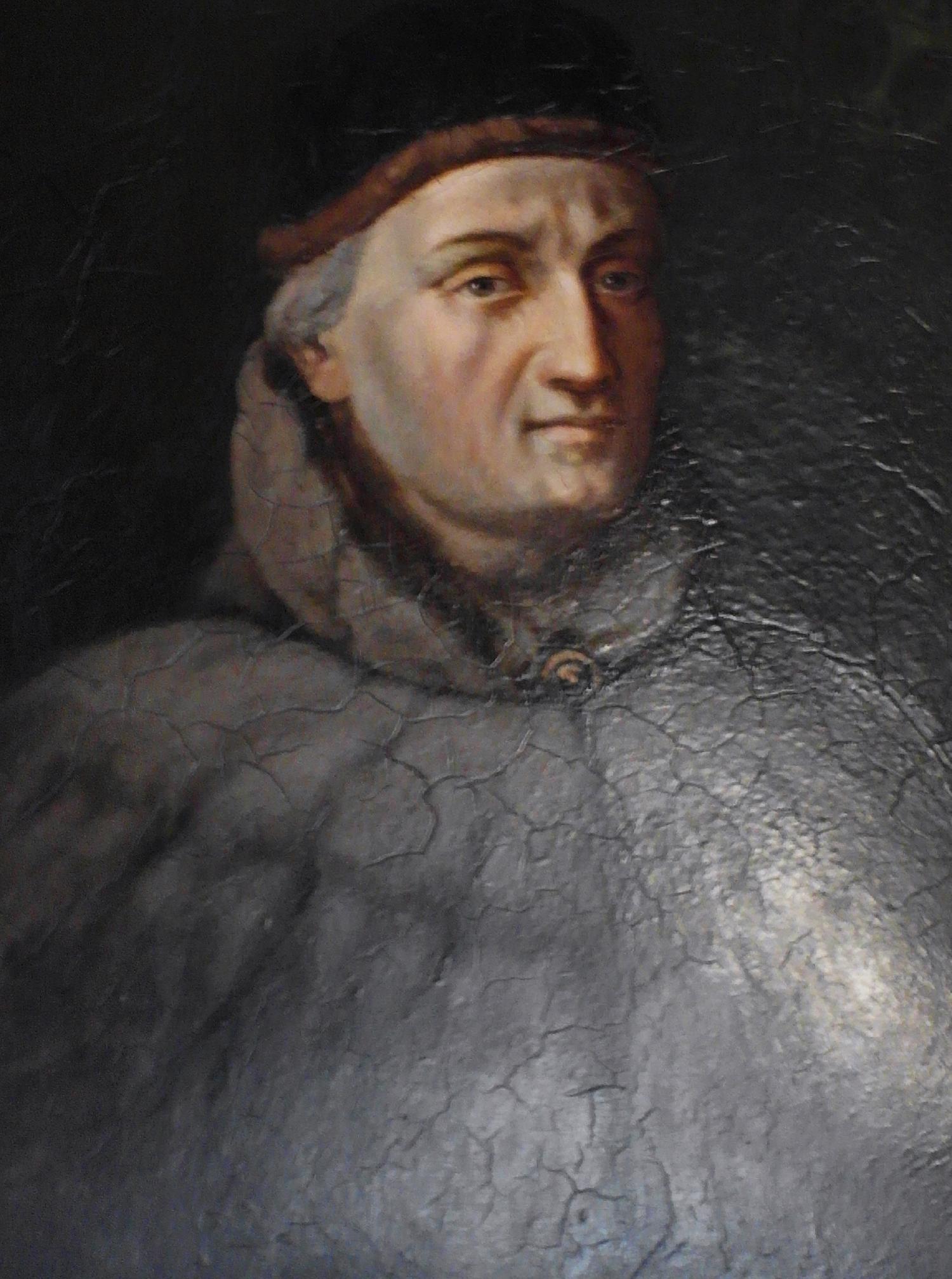 Portret Jana Długosza stworzony przez Władysława Łuszczkiewicza (fot. Wikipedia)