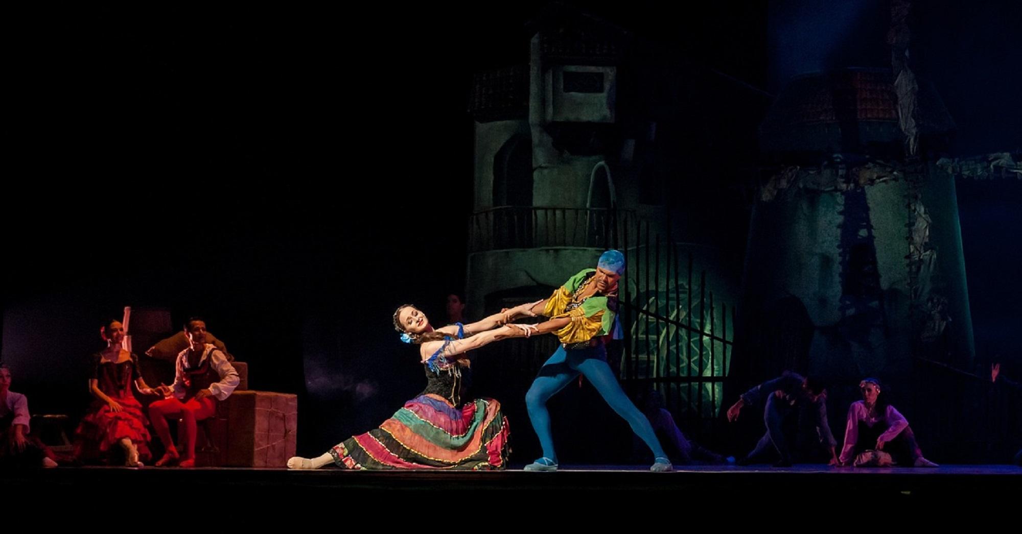 Przedstawienie baletowe inspirowane Don Kichotem (fot. Pixabay)