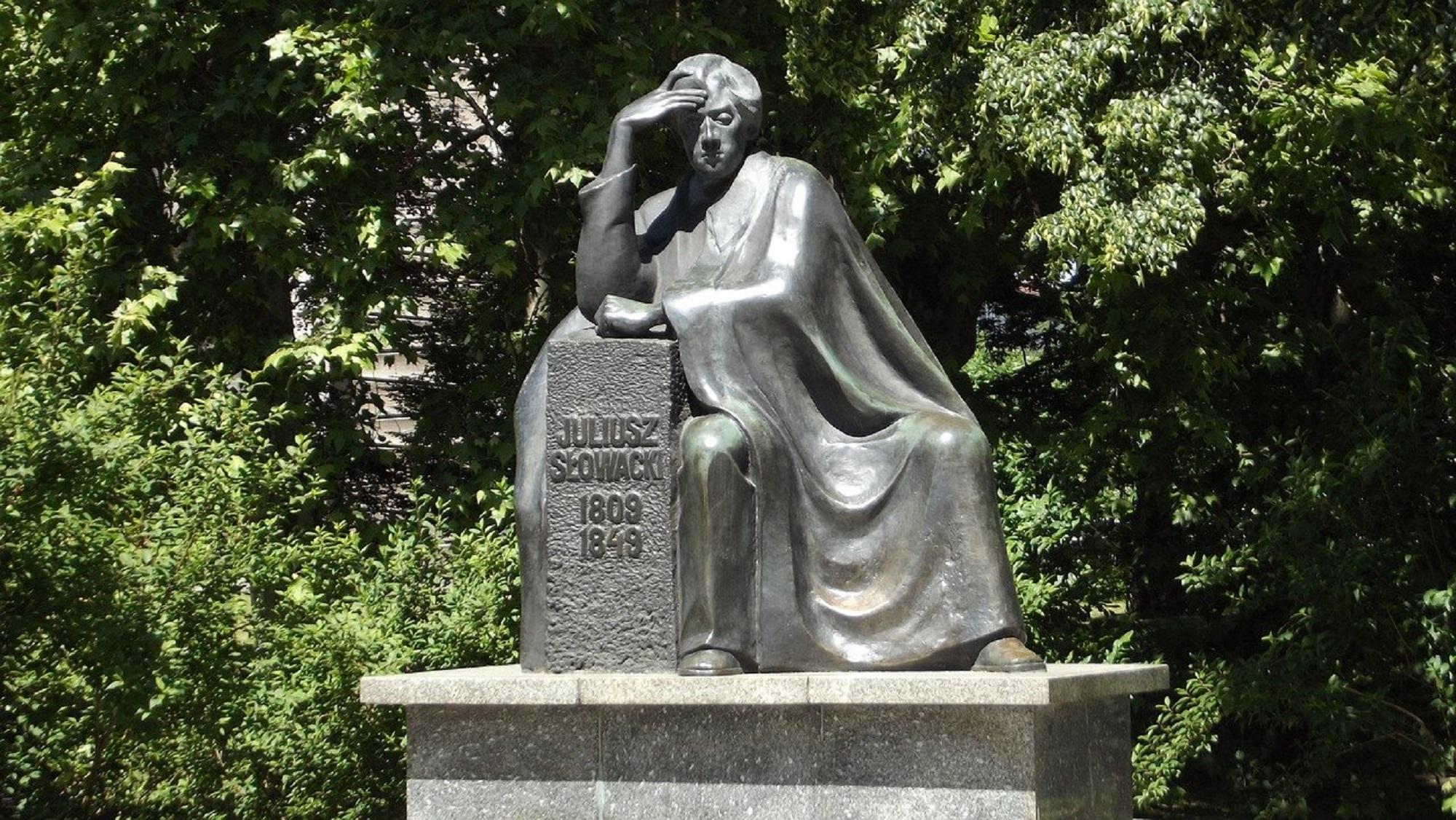 Pomnik Juliusza Słowackiego we Wrocławiu (fot. Pixabay)