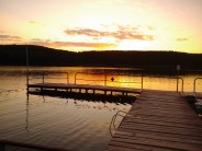 Mój wakacyjny zachód słońca nad Polskim jeziorkiem w Lubniewicach ;)