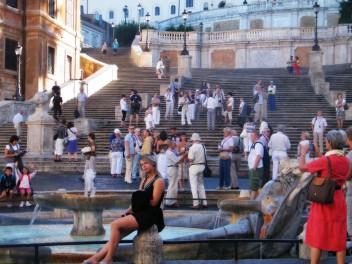 """Nie ma to jak """"Hiszpańskie schody"""" w Rzymie :)"""